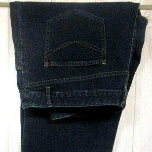 J JILL Authentic Fit Below Waist Jeans 18